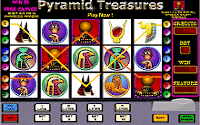 Pyramid Treasures Slots