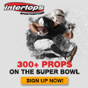 Superbowl Bets at Intertops Sports, Reliable Payouts Since 1998