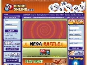 123 Bingo No Deposit Codes 2021