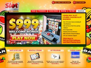 Slot madness casino no deposit bonus